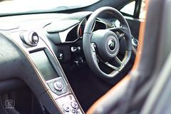 McLaren interior (cchana) Tags: uxbridgeautoshow steeringwheel console leather sportscar mcclaren interior mclaren