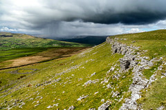 Yorkshire Dales (Robert J Heath) Tags: grass grassland limestone escarpment hills uk england clouds landscape yorkshire dales