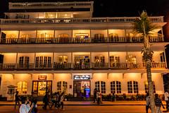 Hotel Near Rock Beach (wandercrumbs) Tags: hotel rock beach night pondicherry puducherry
