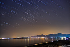 Mignight summer dream (Dimitris Psilopoulos) Tags: summer summer2016 dream nighsky nightphotography startrails stars night light sea landscape pentax pentaxk5