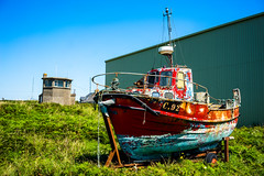 (Ailís Ní hÉgeartaigh) Tags: boat ireland wexford world europe earth zeiss za sony a7 colorful 2016 summer sunny sun bluesky