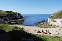 Flamborough Head (Joe's Jollies) Tags: dadsarmy movie flamborough 2016 beach chalk cliffs seaside coastal eastyorkshire sea