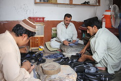 Shoe Maker (Akhuwat BPP) Tags: charsada pakistan interest free loans microfinance entrepreneurship pakhtoon ordinary people small business akhuwat shoe maker kheri chappal