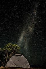 Camping under the stars (pdellouve) Tags: deadhorse milkyway voielacte stars etoiles camping campground tent tente moab utah canyonlands colorado