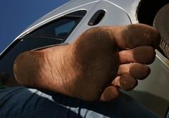 dirty city feet 331 (dirtyfeet6811) Tags: feet soles barefoot dirtyfeet dirtysoles blacksoles cityfeet