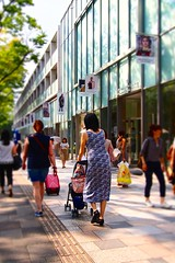 2016 summer #3 (Yorkey&Rin) Tags: 2016  em5 japan lumixg20f17 olympus omotesandohills omotesando people rin september shoppingmall summer t9022007 tokyo