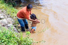Mother and daughter (kalypsoworldphotography) Tags: poverty family portrait southamerica water girl female youth race river boot nationalpark kid ecuador amazon bath rainforest child adult indian poor daughter young mother culture lifestyle rubber dirty exotic jungle pre tropical editorial misery tradition bathing aboriginal tribe parenting indigenous cuyabeno amazonian amazonia columbian quechua yasuni