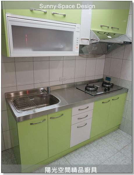廚具│廚具大王│陽光廚具-作品246一字型廚具-陽光空間精品廚具