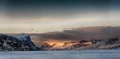 Pangnirtung Pass (MichaelHD ( michaelhdavies.com )) Tags: ocean mountain snow cold ice clouds michael nikon arctic h nikkor hdr davies pang pangnirtung d300 michaeldavies d700 damniwishidtakenthat pangpass michaelhdavies