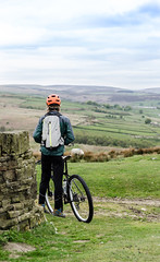 Ogden Moor (a.younghusband) Tags: uk england mountain nature bike landscape outdoors ride yorkshire bikes mtb moor
