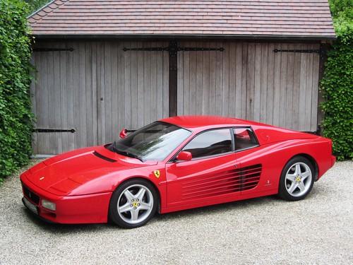 Ferrari 512 TR (1992).