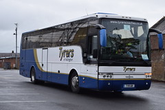 TYR6R  Tyrers, Adlington (highlandreiver) Tags: bus club football coach stadium north lancashire chorley end preston van fc coaches wembley deepdale hool adlington tyrers tyr6r