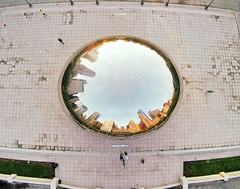 people art photography photo small perspective picture chitown pic mini aerial fromabove chi aerialphoto lookingdown cloudgate aerialphotography heli dirka drones drone chicagobean phantom2 gopro quadcopter dirkdallas djiphantom djiphantom2 fromwhereidrone droneography dronography