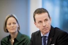 Mikael Svanberg, EFFUA, and Birgitte Messerschmidt, FSEU