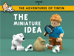 LEGO Tintin - The Miniature Idea (Concorer) Tags: brick toy tin lego fig snowy character group reporter games legos figure tintin decal tt minifig adventures calculus professor custom knob dupont unicorn ideas et thompson journalist tournesol dimensions milou minifigure herge capitaine dupond 2015 tompson concore tryphon hergé's herge's