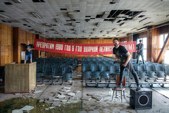 """""""We turn 1980 into the year of the shock works, as Lenin! """" (I g o r ь) Tags: urban abandoned rust decay forgotten urbanexploration decayed lostplaces"""
