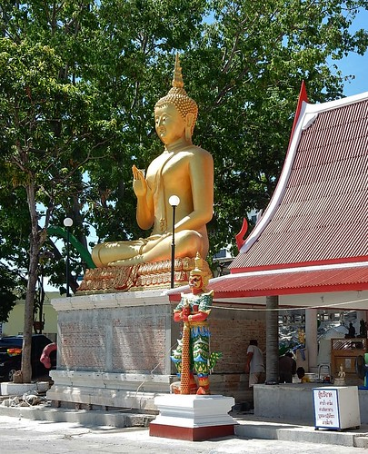 Big Gold Buddha