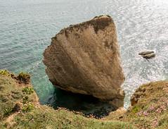 Freshwater Bay (Andy Latt) Tags: sea rock bay coast sony stack shore isleofwight freshwater freshwaterbay andylatt rx100m3 dsc01419r