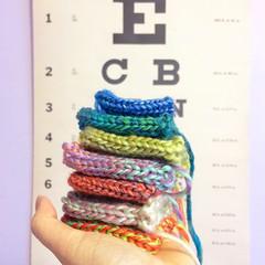 Nautilus Brooch WIP (hine) Tags: art toy handmade brooch craft felt etsy knitted nautilus hine hinemizushima