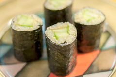 cucumber roll, grains, nori (bour3cp1) Tags: grains nori cucumberroll