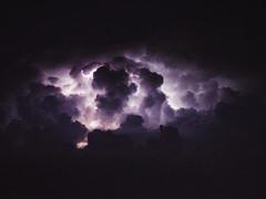 290/365 Gods' Wrath. (Alexandra Bloch) Tags: blue light summer sky storm nature colors night clouds dark spring purple anger stupid gods lightning 365 wrath thunder
