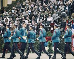 Perfect man (freshandfun) Tags: blue people public army military guard parade vojvodina zrenjanin