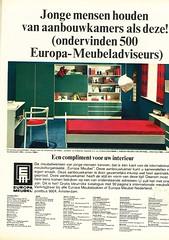 Europa meubel (Tompouce6) Tags: 1969 magazine design bed bedroom 60s europa reclame interior interieur ad advert sixties slaapkamer meubel advertentie margriet damesblad woninginrichting