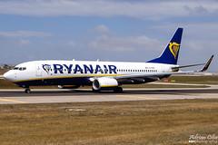 Ryanair --- Boeing 737-800 --- EI-FRG (Drinu C) Tags: plane aircraft aviation sony boeing ryanair dsc 737 mla 737800 lmml hx100v adrianciliaphotography eifrg