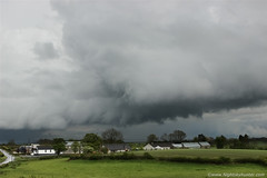 Maghera Storm With Rotation 2 (Nightskyhunter On Flickr) Tags: clouds rotation thunderstorm stormclouds nireland maghera nightskyhunter tiltedupdraught martinmckennna