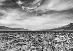 Badwater Basin (idreamofdaylight) Tags: california blackandwhite bw usa white black canon handheld deathvalley feb badwaterbasin 2016 2015 ef24105l