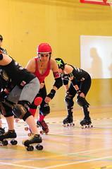 SlamAbama (sk8geek) Tags: rollerderby skaters 777 jammer gameface slamabama