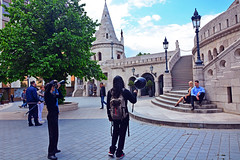Fisherman Bastion, Budapest (misi212) Tags: people fisherman budapest bastion