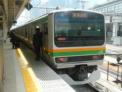 E231 (1) (Transrail) Tags: tokyo emu yamanoteline jreast e231 electricmultipleunit tokaidomainline eastjapanrailwaycompany kawasakiheavyindustries tokyucarcorporation