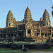 Angkor Wat. Sunrise over the South Gopura