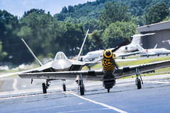 The Great Tennessee Air Show 2016 (Mike Rollinger) Tags: show county plane airplane airport force tn outdoor tennessee aircraft aviation air authority great raptor planes vehicle network f22 mustang smyrna warbird rutherford aerobatics p51 the 2016