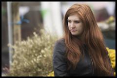 Lady with red hair (Frank Fullard) Tags: street ireland red portrait irish lady hair candid redhead mayo striking turlough castlebar fullard frankfullard