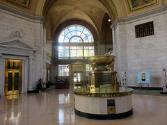 Bottom Portion of Lobby of M&T Branch Bank (Autistic Reality) Tags: usa ny newyork building architecture america buildings us office buffalo mt unitedstates unitedstatesofamerica structures bank center upstateny structure upstatenewyork newyorkstate banks offices nys nystate westernnewyork wny beauxarts eriecounty centers westernny mtbank stateofnewyork goldome buffalosavingsbank greenwicks fountainplaza cityofbuffalo mtcenter mtbankbranch 1fountainplaza