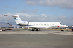 N374FS (Photos from New Zealand and elsewhere) Tags: hnl gulfstream phnl g650 glf6