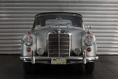 Mercedes Benz 220 S 1959 a (L Urquiza) Tags: old classic car vintage mercedes benz s coche antiguo 1959 220