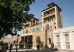 Golestan Palace (Martin Tsvetkov) Tags: city travel panorama snow tower architecture landscape photography view iran prayer palace tehran milad shah azadi golestan