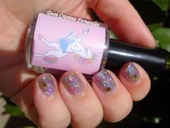 Misturinha by Me: Unicorns Rock! (Dora Cristina Fernandes) Tags: glitter silver nagellack feitomo manicure holographic esmaltes vernisongles naillacquer misturinha smaltoperunghie hologrfico unhasdecoradas unhasartsticas artisticnails indienailpolish vernizesdeunhas frakennailpolish vernizprata lacadeunas