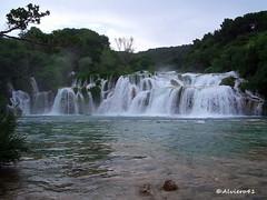 CROAZIA - PARCO NAZ. KRKA (Alviero41) Tags: lago croazia cascate parconazkrka