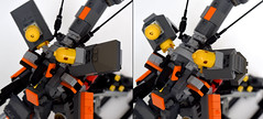 CSA - MA-01C-PD Seraphim I Particle Distribution Type (ExclusivelyPlastic) Tags: robot lego space military scifi mecha mech gundamish