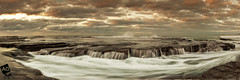 A l l A t O n c e I t W a s E r a s e d (AnthonyGinmanPhotography) Tags: panorama seascape sunrise flow littleausti