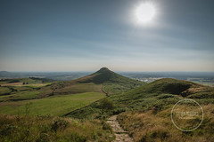 Rosebery Topping (MrSteMcD) Tags: blue summer sky sun rose berry nikon yorkshire great north hills d750 fields moors bliss tamron 70200 topping roseberry stokesley ayton