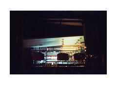 Witching Hour (James Eleftherion) Tags: leica nyc summer film night analog zeiss 50mm iso800 kodak geometry manhattan shapes streetphotography angles midnight blacks epson v600 m3 planar c41 lightandshade homedeveloped cinefilm filmisnotdead tetenal