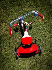 199/365 (2016) (Michael_Soliman) Tags: year6 cameraphone nexus6pcamera grass 2016 tricycle lightroommobile project365 sanluisobispo california unitedstates us