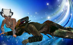 Mystic (Hikumdodonpa) Tags: cosmic photography nimue satyr faun protector
