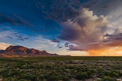 Big Bend National Park | Chisos Mountains Sunset (Erik R Walker) Tags: bigbend nationalpark chisosmountains chihuahuandesert monsoon rain sunset erikwalker findyourpark