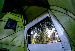 Inside (@Dpalichorov) Tags: outdoor tent inside camping nature tree action camera actioncamera firefly6s firefly 6s wide angle wideangle